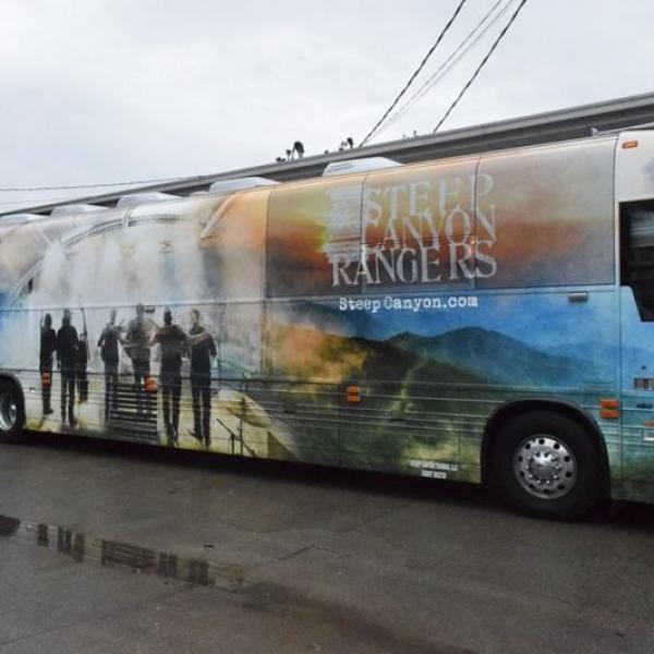 Custom Tour Bus Wrap Nashville