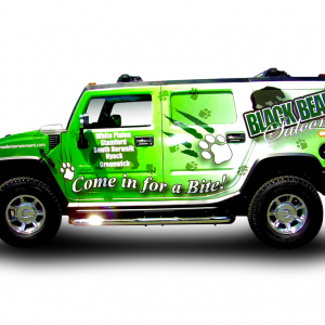 Vehicle wrap is better than a paint job