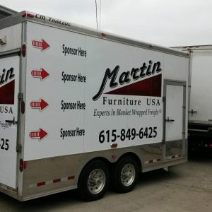Fleet graphics in Nashville
