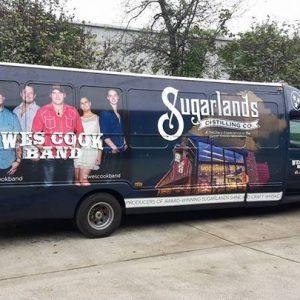 Passenger Bus Wraps in Madison