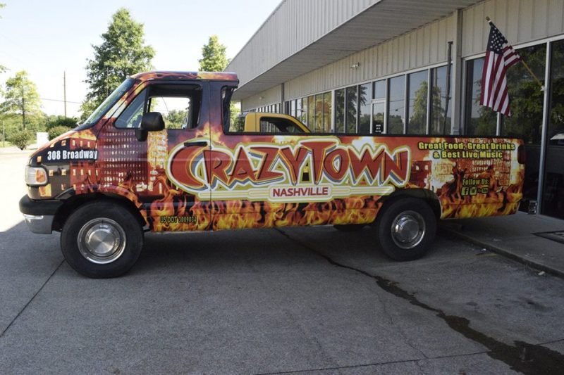 Custom vehicle wrap design