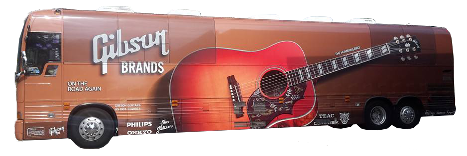 Custom guitar wrap and vinyl graphics