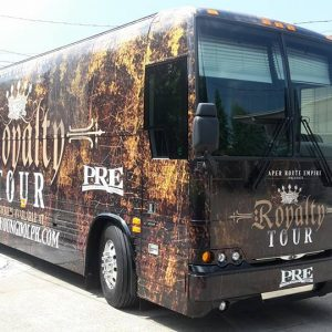 Tour Bus Wrap in Nashville