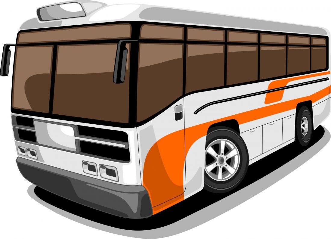 Custom political tour bus wrap Nashville